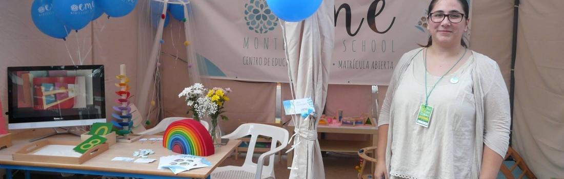 Eme Montessori School en la feria del comercio